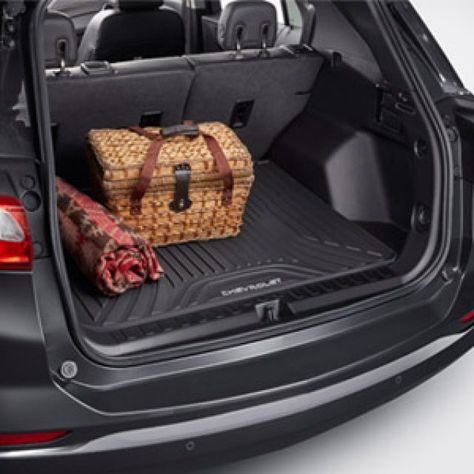 Premium All Weather Cargo Area Mat In Black Chevy Accessories