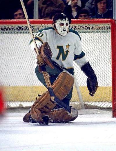 Cesare Maniago Hockey Old School Goalie Masks Hockey Goalie