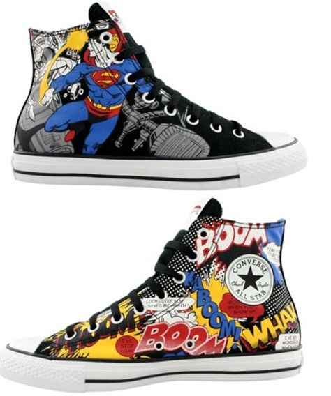 Superhero Sneakers by Converse...can I please have this?