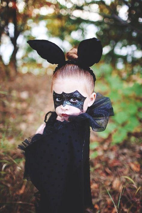 Bat makeup mask