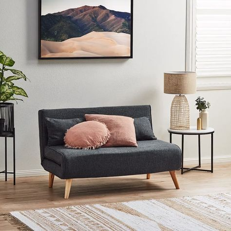 Who says you have to compromise on style just because you have a small space? The Aero sofa bed is the perfect space-saving seating solution for sleepovers and unexpected guests. It's not only stylish, but also easy to assemble into a double-sized bed.