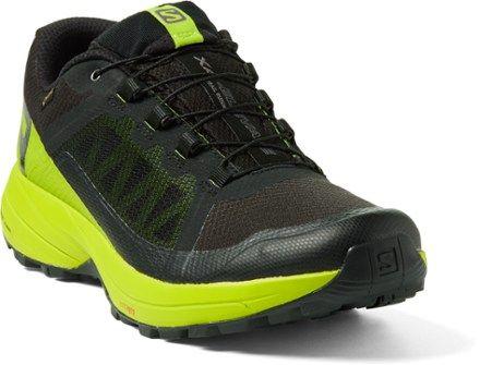 Salomon Men's XA Elevate GTX Trail Running Shoes BlackLime