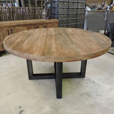 Salle A Manger Style Industriel Salle A Manger Style Industriel Table De Salle A Manger Bois Salle A Manger Table Ronde