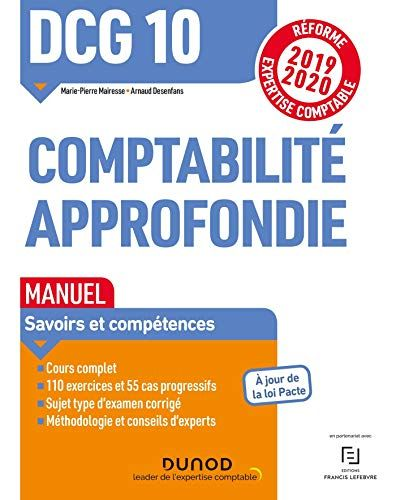 Telecharger Dcg 10 Comptabilite Approfondie Manuel Reforme 2019 2020 Reforme Expertise Compta Comptabilite Comptabilite Generale Apprendre La Comptabilite