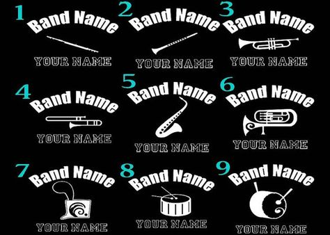 Band Mom Gift Marching Band Bumper Sticker I am With The Band Vinyl Decal