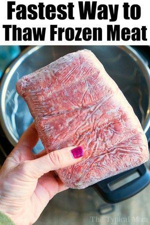 How To Cook Instant Pot Frozen Ground Beef Recipe Beef Instant Pot Frozen Beef