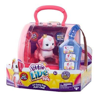 Little Live Pets Lil Cutie Pup Play Case Lil Pets Live Little Live Pets Birthday Toys Pets