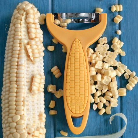 A corn on the cob scraper. | 11 Affordable Kitchen Utensils That Will Change Your Life