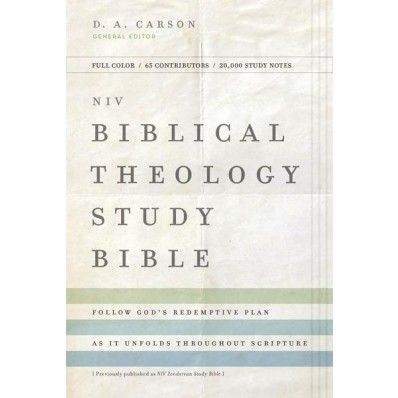 Niv Biblical Theology Study Bible Hardcover Comfort Print