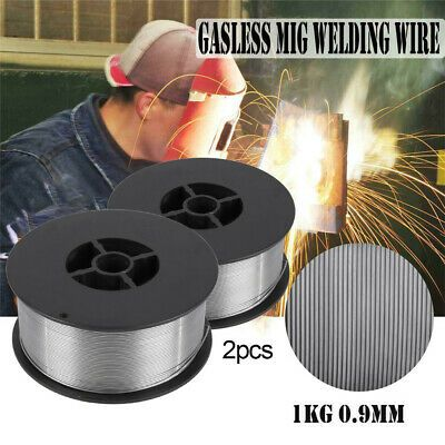 New Aluminum Welding Wire Flux Core Gasless Cored Mig 035 Spool General Purpose