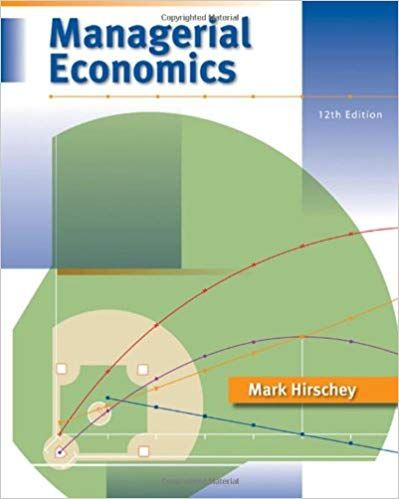 For Title Managerial Economics Edition 12th Edition Author S