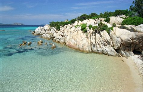 Cala Ginepri Near Le Querce Baja Sardinia Italy Sardegna