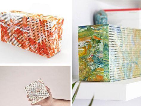 Portable Speaker from 100% plastic waste