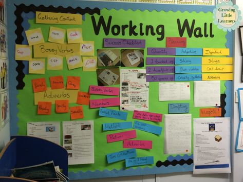 Working Walls with Guest Blogger Pixie Anne ~ Love this idea for making students' learning real!