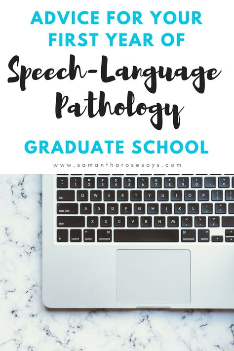 Advice for your First Year of Speech-Language Pathology Graduate School. Speech Language Therapy, Speech Language Pathology, Speech And Language, Speech Therapy, Speech Activities, Graduation Speech, College Graduation, School Humor, Graduate School