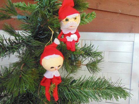 ornaments Japan vintage elf