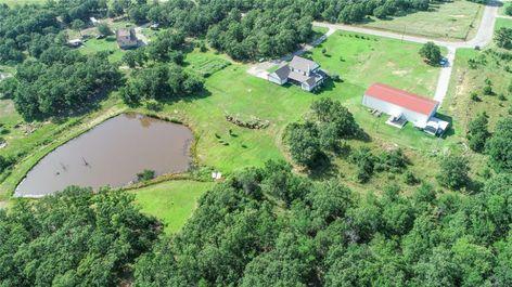 18066 Cardinal Place Kellyville Ok Farmhouse Lifestyle Land