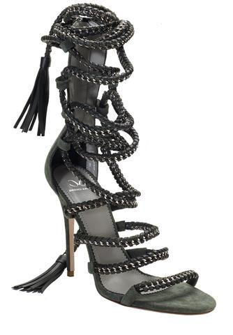 31d837d3bf3 Lace Up Heels & Designer Sandals | Designer Shoes From Monika Chiang ...