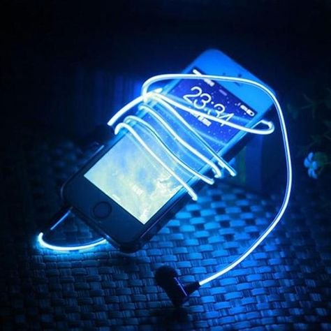 Idea By Kadykatmanga On Aesthetic Led Headphones Light Up