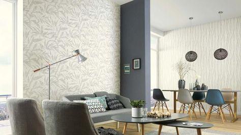 Scandy Modern Living - Trendtapeten Pinterest Modern living