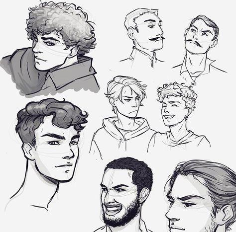 20 New Ideas Hair Drawing Curly Boy Art Tutorials References 2020 Cizim Rehberleri Cizimler Cizim