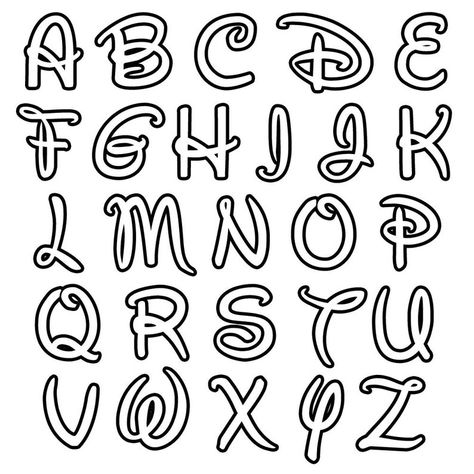 Style Alphabet, Alphabet Cursif, Tattoo Fonts Alphabet, Hand Lettering Alphabet, Graffiti Alphabet, Fun Fonts Alphabet, Alphabet Templates, Embroidery Letters, Embroidery Fonts