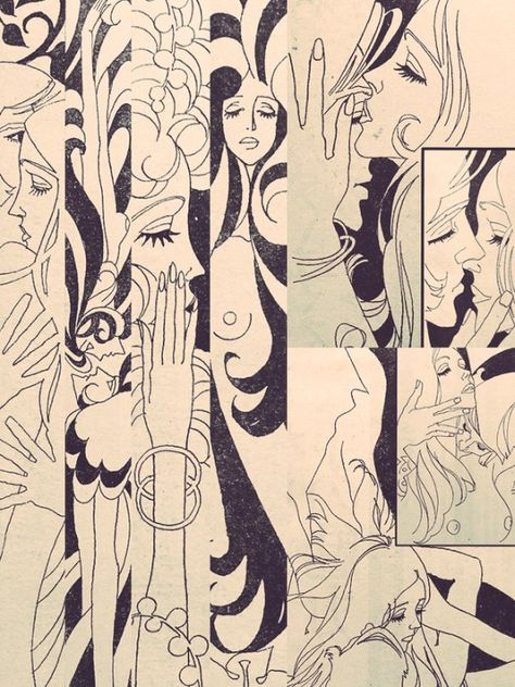 Feh Yes Vintage Manga Art Inspo, Inspiration Art, Art Et Illustration, Illustrations, Gustav Klimt, Art Sketches, Art Drawings, Astro Boy, Psychedelic Art