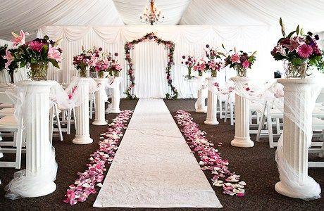26 Amazing Ideas Pillar Decoration For Weddings That Will Amaze You Fashion And Wedding Wedding Aisle Decorations Wedding Pillars Wedding Columns