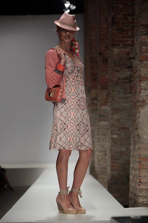 Look Intreccio Cravatte Rosa
