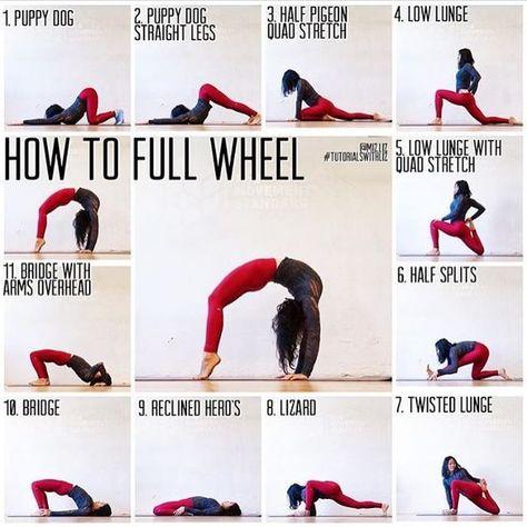 yoga - how to full wheel