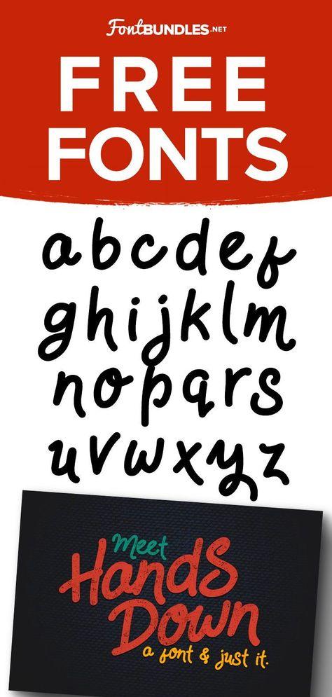 Free Handwritten Font Download: HandsDown