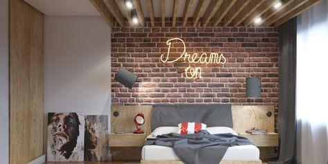 Muro Testata Letto.1001 Idee Per Colori Camera Da Letto Chiari E Scuri Camera