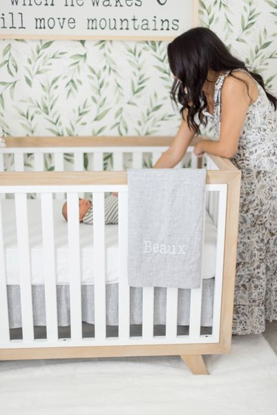A Neutral Nursery For Baby Beaux Project Nursery Nursery Neutral Gender Neutral Nursery Nursery Decor Inspiration