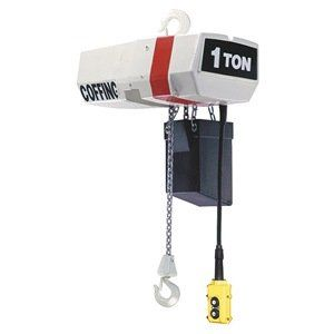 Elec Chain Hoist 3t 16fpm 230v By Coffing 8060 81 Electric Chain Hoist Variable Frequency Drive Capacity 3 Ton Lif House Materials Pushbutton Man Shed