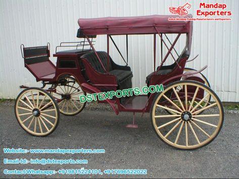 Canadian Wedding Horse Buggy For Sale Mandapexporters Canada