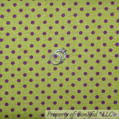 BonEful Fabric FQ Cotton Quilt VTG Purple Tone Shade Girl Light Pastel Pattern S