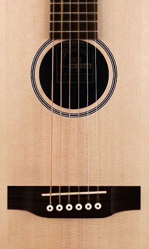 Martin Lx1e Mini Guitar Inc Gig Bag Left Handed Imagens Musicais Violao