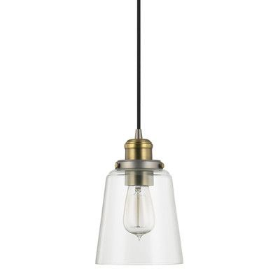 Buy the capital lighting graphite with aged brass direct shop for the capital lighting graphite with aged brass pendant collection 1 light mini pendant and
