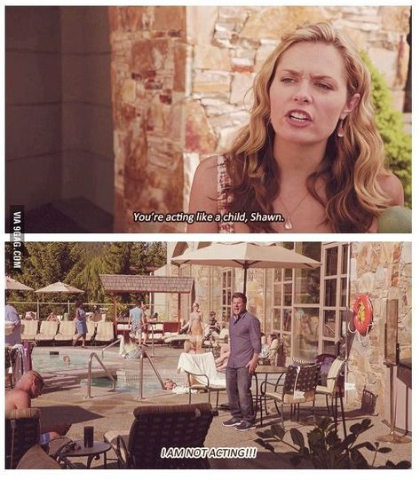 It's the little quick jokes that Psych my favorite show Psych Memes, Psych Tv, Psych Quotes, Tv Show Quotes, Funny Memes, Psych Cast, Memes Humor, Funny Videos, Funny Quotes