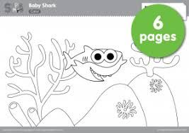 Image Result For Pinkfong Baby Shark Free Printables Desenhos