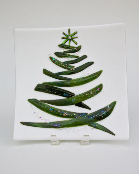 christmas tree plate - must make this for next christmas!