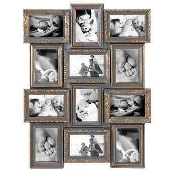 Gimenez 10 Piece Luxury Typography Picture Frame Set In 2020 Picture Frame Sets Frame Set Picture Frames