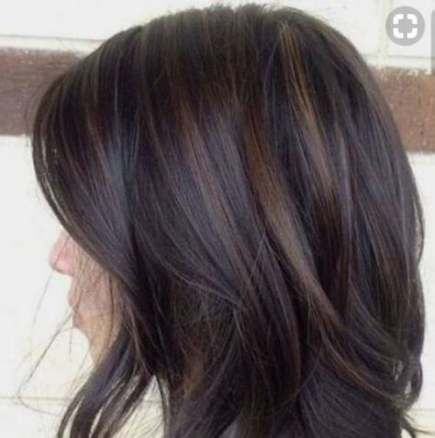 Chocolate Brown Hair With Caramel Highlights Low Lights 41 New Ideas Hair Highlights And Lowlights Brunette Hair Color Brown Hair Balayage