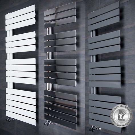 Designer Handtuchheizkorper Handtuchwarmer Badheizkorper Grau Weiss Chrom Heimwerker Installation Heizung Ebay Handtuchwarmer Badezimmer Badheizung