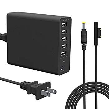 Microsoft Surface Pro Charger 65w For Microsoft Surface Pro 3 4 5 6 I5 I7 2017 Tablet Surface Laptop Sur In 2020 Surface Laptop Microsoft Surface Pro Microsoft Surface