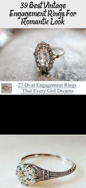 Best #Vintage #Engagement #Rings #For #Romantic #Look # ★ # #engagementring # #proposal # #Expensiveweddingrings # #weddingringsVintage #,  #Engagement #engagementring #expensiveengagementrings #expensiveweddingrings #proposal #Rings #Romantic #vintage #weddingringsVintage