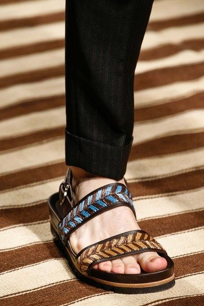 Salvatore Ferragamo Spring 2016 Menswear Accessories Photos - Vogue