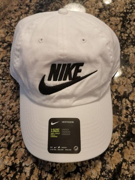 3dc2ea6a2e38f Nike Mens Nike Futura Washed H86 Adjustable Hat White Black 626305-101  NIKE