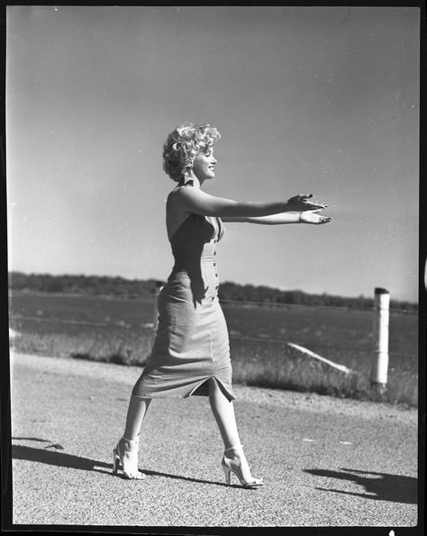 Marilyn Monroe, 1952. Photo: Bob Sandberg (Library of Congress).
