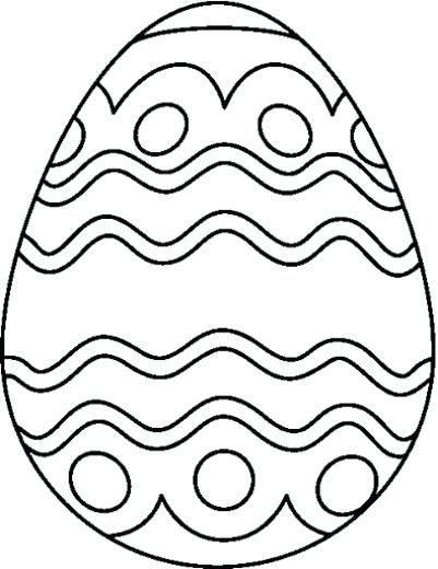 Coloring Pages Easter Eggs Printable Plain Easter Egg Coloring Pages At Getdrawings In 2020 Easter Egg Coloring Pages Egg Coloring Page Easter Egg Printable